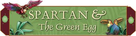 Spartan & The Green Egg logo