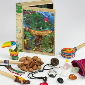 World of Amazonia Tin Book Box