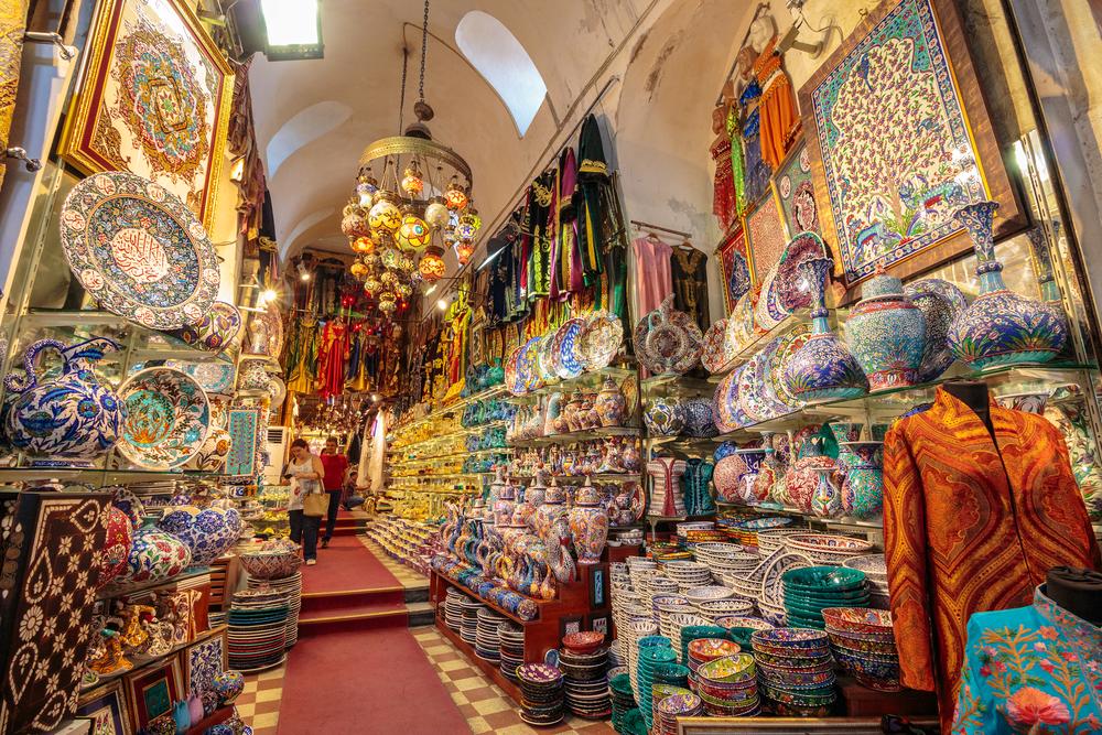 Grand Bazaar, Istanbul, Turkey - Spartan and the Green Egg