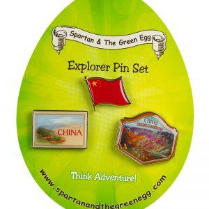 China pin set #1