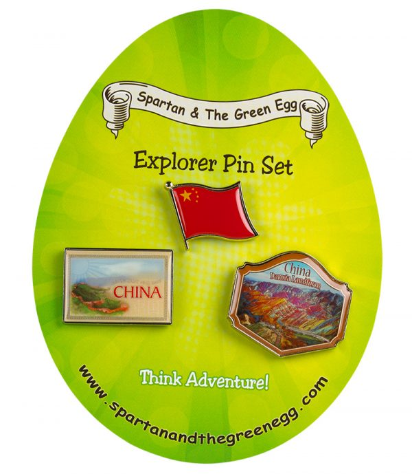 China pin set #1