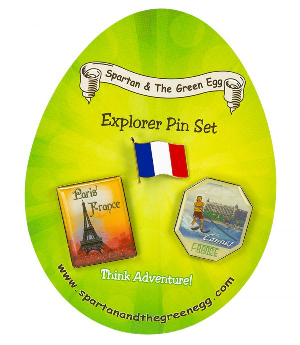 France pin set #1