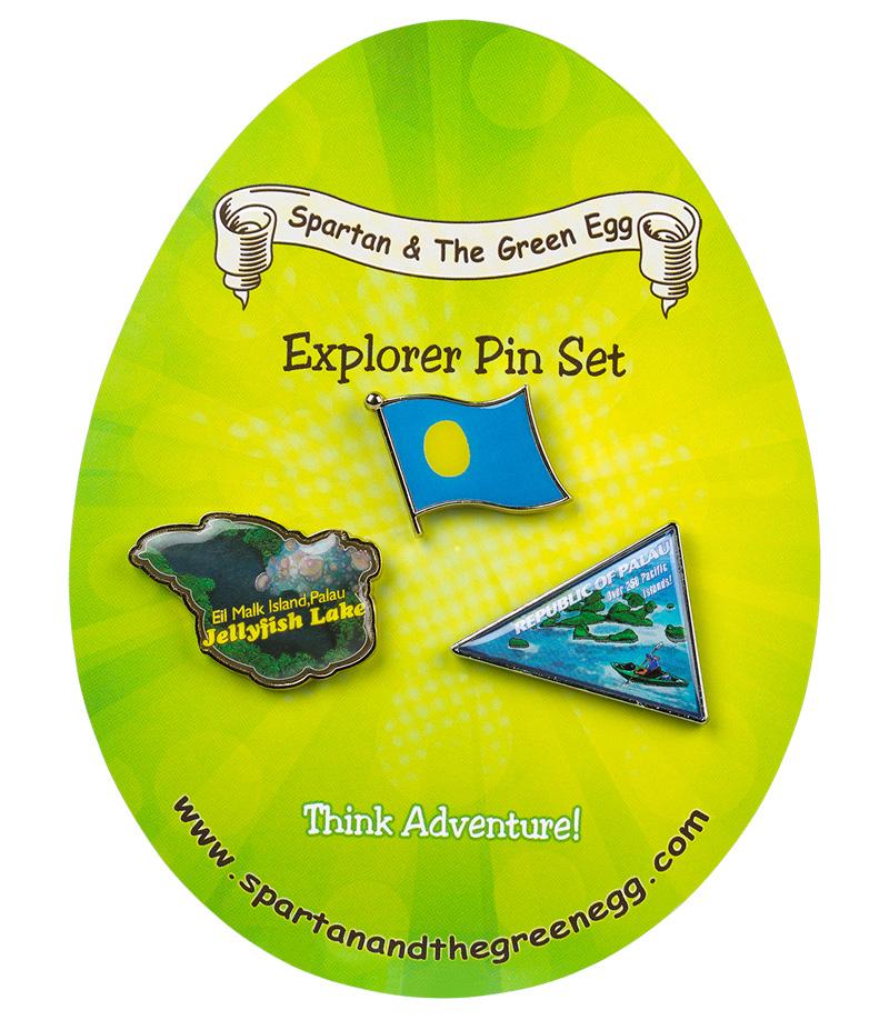 Palau pin set #1