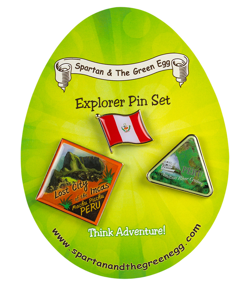 Peru pin set #1
