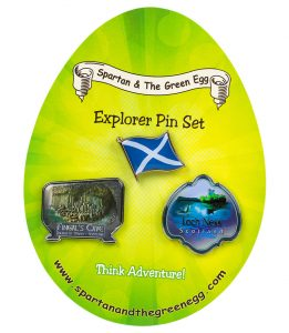 Scotland pin set #1