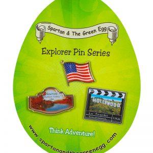 USA pin set #10