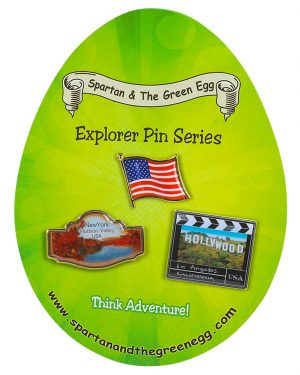 USA pin set #10