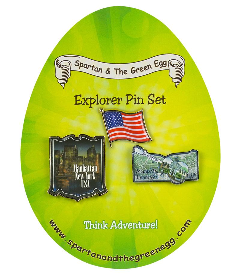USA pin set # 5