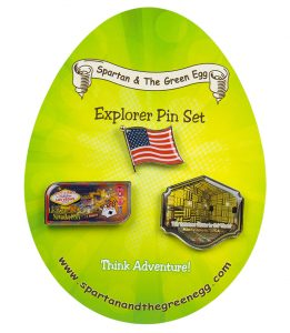 USA pin set # 9
